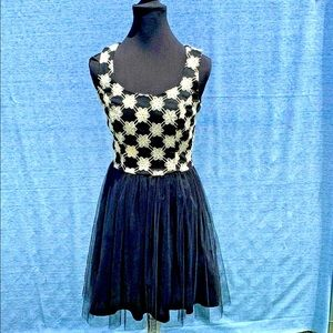 Jun and Ivy dress size S, tulle skirt